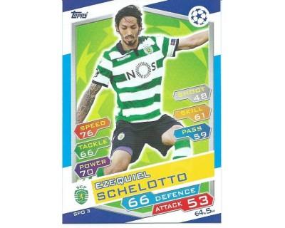 MATCH ATTAX U.C.LEAGUE 2016/2017 SPORTING CLUBE DE PORTUGAL Nº 3