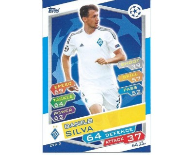 MATCH ATTAX U.C.LEAGUE 2016/2017 FC DYNAMO KYIV Nº 3
