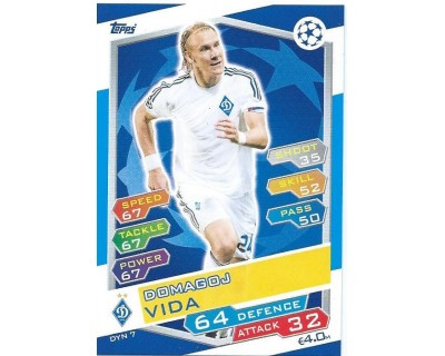 MATCH ATTAX U.C.LEAGUE 2016/2017 FC DYNAMO KYIV Nº 7