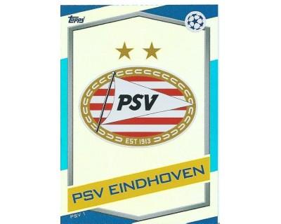 MATCH ATTAX U.C.LEAGUE 2016/2017 PSV EINDHOVEN Nº 1 ESCUDO