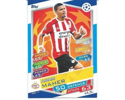 MATCH ATTAX U.C.LEAGUE 2016/2017 PSV EINDHOVEN Nº 11