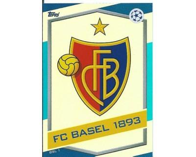 MATCH ATTAX U.C.LEAGUE 2016/2017 FC BASSEL 1893 Nº 1 ESCUDO