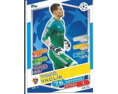 MATCH ATTAX U.C.LEAGUE 2016/2017 FC BASSEL 1893 Nº 2