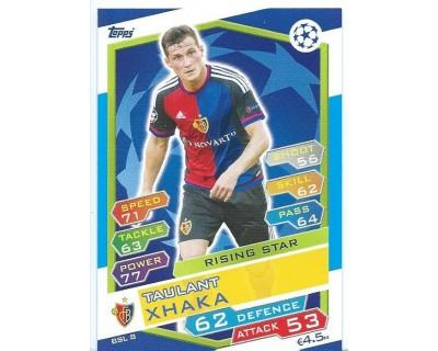 MATCH ATTAX U.C.LEAGUE 2016/2017 FC BASSEL 1893 Nº 8 RISING STAR