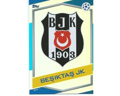 MATCH ATTAX U.C.LEAGUE 2016/2017 BESIKTAS JK Nº 1 ESCUDO