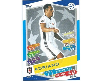 MATCH ATTAX U.C.LEAGUE 2016/2017 BESIKTAS JK Nº 5
