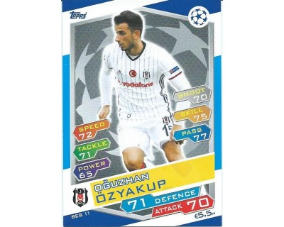 MATCH ATTAX U.C.LEAGUE 2016/2017 BESIKTAS JK Nº 11