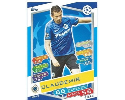 MATCH ATTAX U.C.LEAGUE 2016/2017 CLUB BRUGGE KV Nº 8