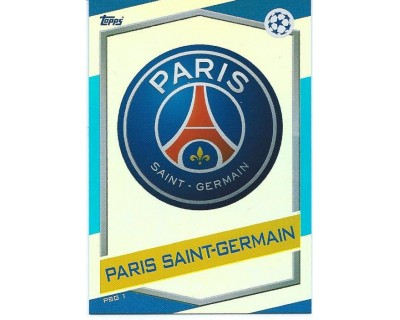 MATCH ATTAX U.C.LEAGUE 2016/2017 PARIS SAINT-GERMAIN Nº 1 ESCUDO
