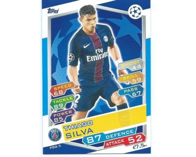 MATCH ATTAX U.C.LEAGUE 2016/2017 PARIS SAINT-GERMAIN Nº 5