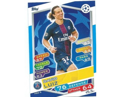 MATCH ATTAX U.C.LEAGUE 2016/2017 PARIS SAINT-GERMAIN Nº 6