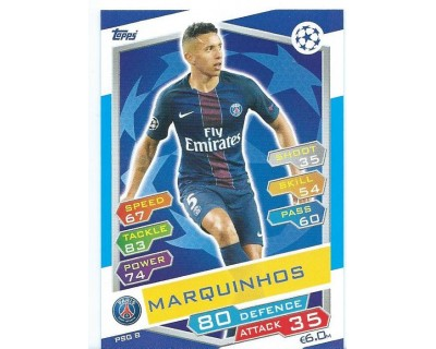 MATCH ATTAX U.C.LEAGUE 2016/2017 PARIS SAINT-GERMAIN Nº 8