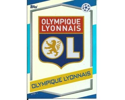 MATCH ATTAX U.C.LEAGUE 2016/2017 OLYMPIQUE LYONNAIS Nº 1 ESCUDO