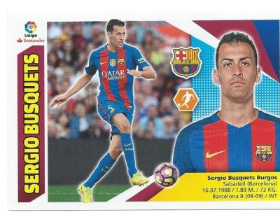 Liga Este 2017/2018 F.C. Barcelona Nº 8