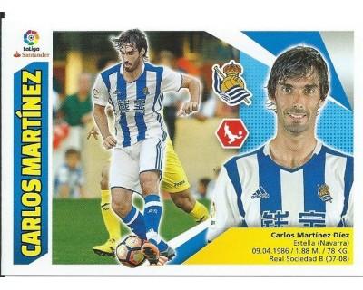 Liga Este 2017/2018 Real Sociedad Nº 17