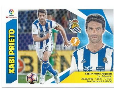 Liga Este 2017/2018 Real Sociedad Nº 12