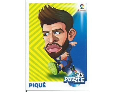 Liga Este 2017/2018 La Liga Puzzle Nº 3