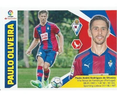 Liga Este 2017/2018 PAULO OLIVIERA S.D. Eibar Nº 5 SEGUNDA EDICION