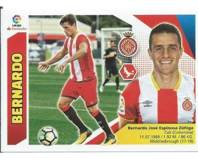 Liga Este 2017/2018 BERNARDO Girona C.F. Nº 4A SEGUNDA EDICION