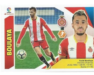 Liga Este 2017/2018 BOULAYA Girona C.F. Nº 13A SEGUNDA EDICION