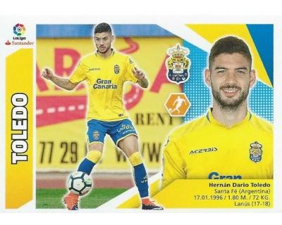Liga Este 2017/2018 TOLEDO U.D. Las Palmas Nº 11 SEGUNDA EDICION