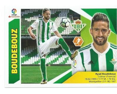 Liga Este 2017/2018 BOUDEBOUZ Nº 9BIS COLOCA TERCERA EDICION