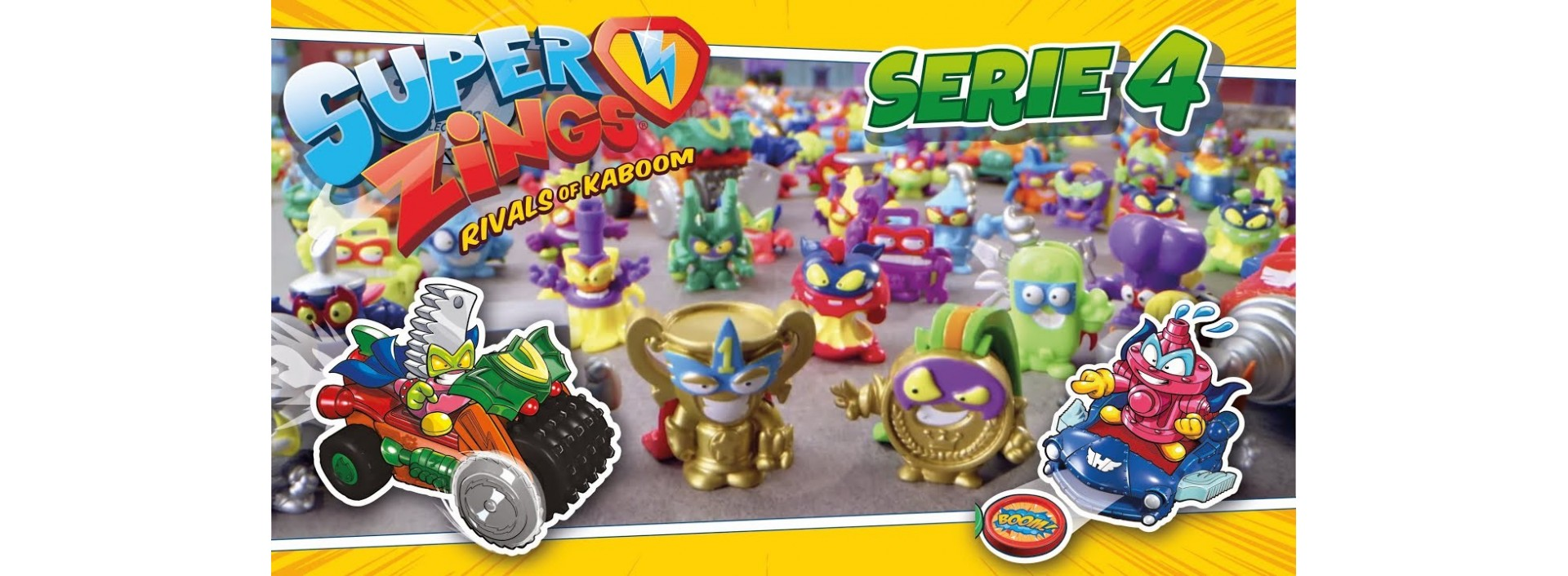 SUPER ZINGS SERIE 4