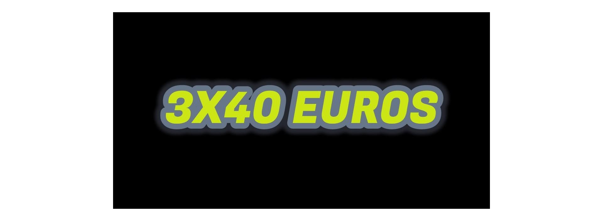 3 FUNCOS x 40 EUROS